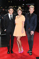Joey Essex; Sam Faiers; Harry Derbidge, A Good Day To Die Hard - UK Film Premiere, Empire Cinema Leicester Square, London UK, 07 February 2013, (Photo by Richard Goldschmidt)
