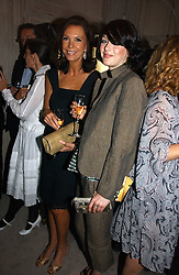 Left to right, MARINA ZANGRELLI and KATIE TURNER at a party to celebrate the re-opening of the David Morris Flagship store at 180 New Bond Street, London on 14th June 2006.<br /><br />NON EXCLUSIVE - WORLD RIGHTS