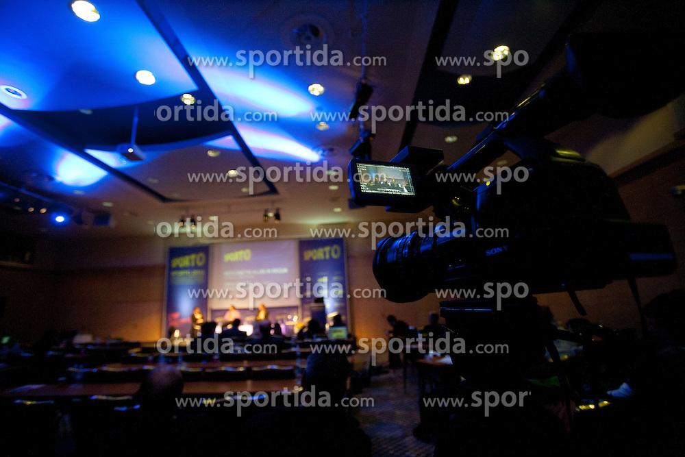 Sports marketing and sponsorship conference Sporto 2011, on November 22, 2011 in Hotel Slovenija, Congress centre, Portoroz / Portorose, Slovenia. (Photo By Vid Ponikvar / Sportida.com)