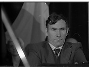 Sinn Fein Ard Fheis.      K63..1976..17.10.1976..10.17.1976..17th October 1976..The Sinn Fein (Kevin Street) Ard Fheis was held over the weekent of the 16th / 17th October at the Mansion House, Dawson Street, Dublin. Mr Ruairi O Bradaigh, President of Provisional Sinn Fein, gave the keynote speech.