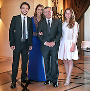 King Abdullah, Queen Rania & Children