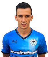 Bogdan Milosevic during photocall of Tours FC for new season of Ligue 2 on October 9th 2016<br /> Photo : Fct / Icon Sport