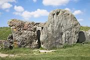 West Kennet Long Barrow, near Avebury, Wiltshire, England