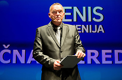 Gasper Bolhar during Slovenian Tennis personality of the year 2017 annual awards presented by Slovene Tennis Association Tenis Slovenija, on November 29, 2017 in Siti Teater, Ljubljana, Slovenia. Photo by Vid Ponikvar / Sportida