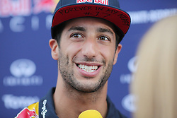 23.07.2015, Hungaroring, Budapest, HUN, FIA, Formel 1, Grand Prix von Ungarn, Vorberichte, im Bild Daniel Ricciardo (Infiniti Red Bull Racing/Renault) // during the preperation of the Hungarian Formula One Grand Prix at the Hungaroring in Budapest, Hungary on 2015/07/23. EXPA Pictures © 2015, PhotoCredit: EXPA/ Eibner-Pressefoto/ Bermel<br /> <br /> *****ATTENTION - OUT of GER*****