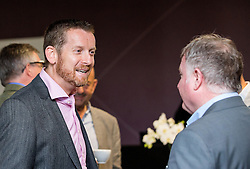Guest mingle at the Bristol Sport Big Breakfast - Mandatory by-line: Robbie Stephenson/JMP - 29/04/2016 - FOOTBALL - Ashton Gate - Bristol, England - Bristol Sport Big Sports Breakfast Eddie The Eagle