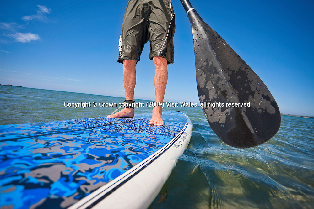 Paddle Boarding<br /> Rhosneigr<br /> Anglesey<br /> North<br /> Activities And Sports