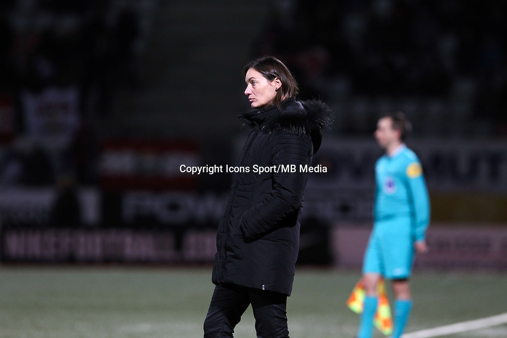 Corinne DIACRE - 19.12.2014 - Nancy / Clermont - 18e journee Ligue 2<br />