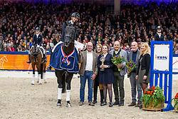 Veeze Bart, NED, Imposantos<br /> KWPN Hengstenkeuring - 's Hertogenbosch 2019<br /> © Hippo Foto - Dirk Caremans<br /> 01/02/2019