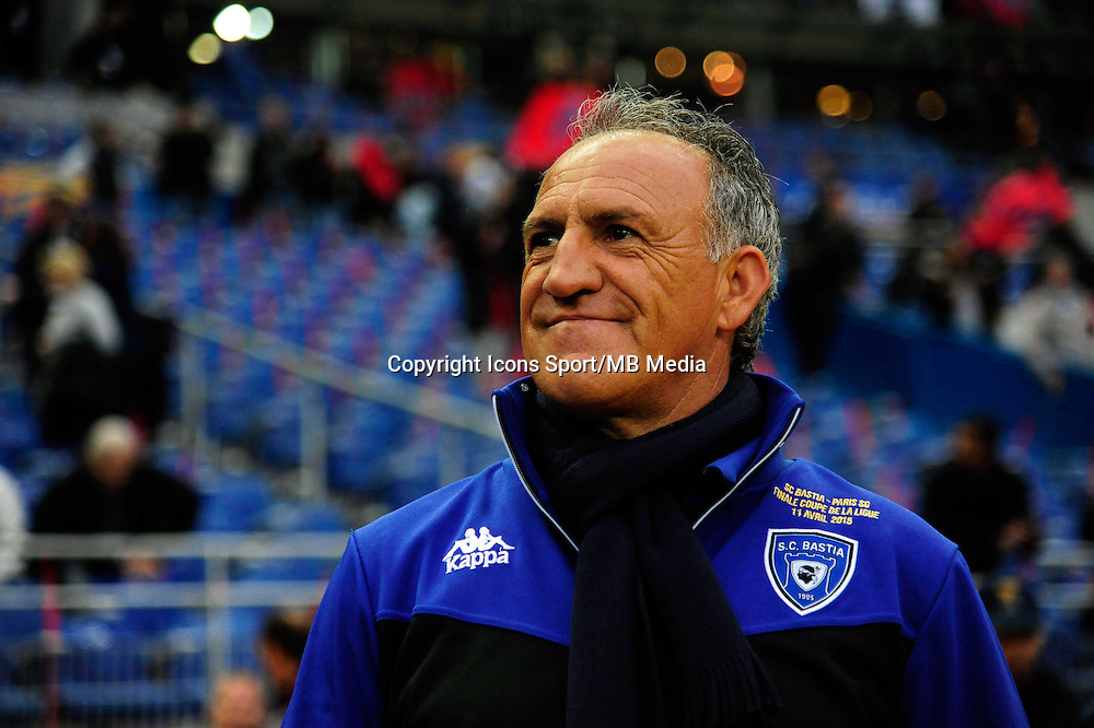 Ghislain PRINTANT    - 11.04.2015 -  Bastia / PSG - Finale de la Coupe de la Ligue 2015<br />