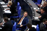 FDP Vorsitzender Christian Lindner bei der Sitzung des Bundestag in Berlin. / 21112017,DEU,Deutschland,Berlin