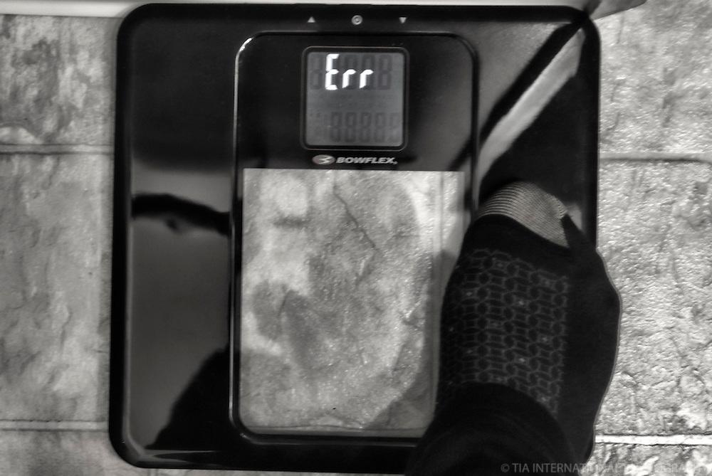 OCTOBER 1st:  Digital Weight Fail!