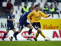 Fotball, 13. mai 2003, NM fotball herrer, Strømsgodset-Bærum,  Andreas Welo, Bærum