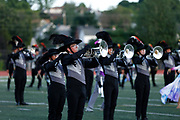 Shadow Drum and Bugle Corps performs in Dubuque, Iowa on July 12, 2019. <br /> <br /> Beth Skogen Photography - www.bethskogen.com