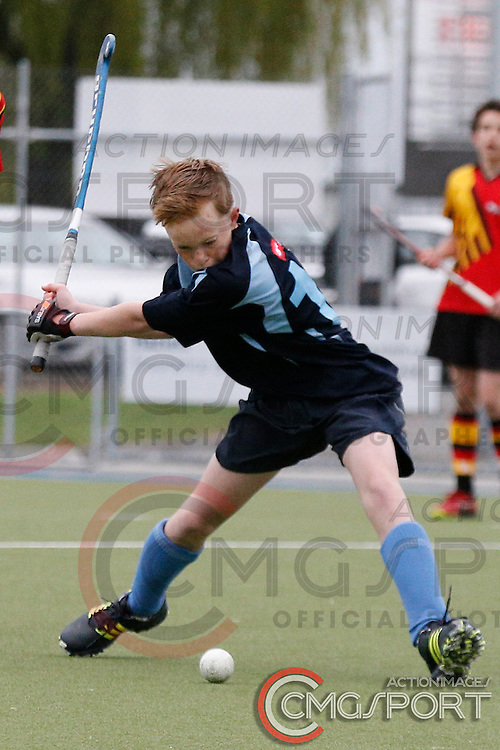 WAIKATO V NELSON DAY 3<br /> U13 BOYS HATCH CUP FROM NUNWEEK PARK IN Christchurch. OCTOBER 3RD - 8TH , 2016.<br /> Photo by CMGSPORT