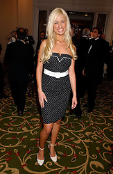 CHANTELLE HOUGHTON at the 2006 British Book Awards held at The Grosvenor House Hotel, Park lane, London on 29th April 2006.<br /><br />NON EXCLUSIVE - WORLD RIGHTS