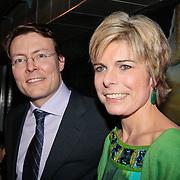 NLD/Rotterdam/20110202 - Boekpresentatie Mr. Finney door pr. Laurentien, en partner pr. Constantijn