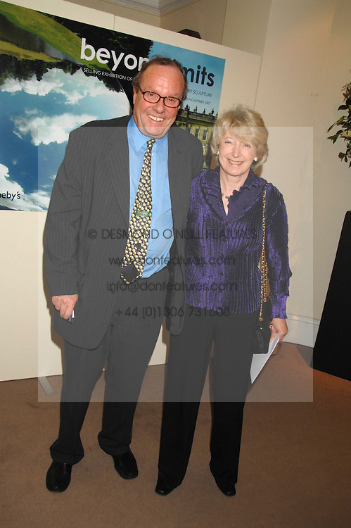 MICHAEL ANCRAM QC MP and his wife LADY JANE ANCRAM at the Sotheby's Summer Party 2007 at their showrooms in New Bond Street, London on 4th June 2007.<br />