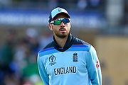 James Vince of England  during the ICC Cricket World Cup 2019 match between England and Bangladesh the Cardiff Wales Stadium at Sophia Gardens, Cardiff, Wales on 8 June 2019.