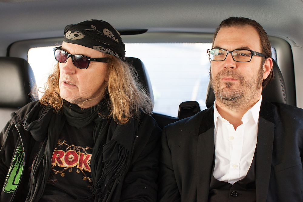 TV personality and Swiss rock front man Chris von Rohr