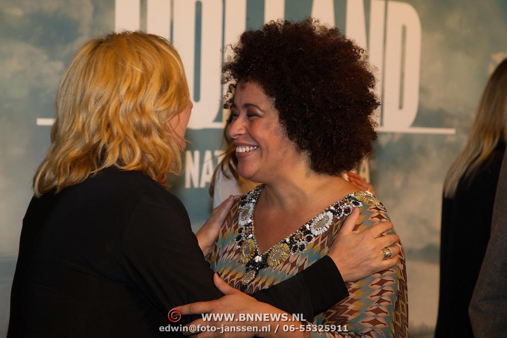 NLD/Utrecht/20150921 - Film premiere 'Holland – Natuur in de Delta', Loretta Schijver en Tania Kross