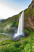 Seljalandsfoss waterfall taken in Southeast Iceland