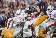 COLLEGE FOOTBALL:  Stanford vs Cal in the annual Big Game on November 17, 1984 at Memorial Stadium in Berkeley, California.   Photography by David Madison (www.davidmadison.com).