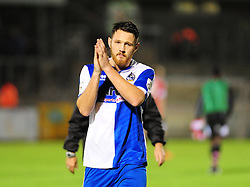 Bristol Rovers' Tom Parkes - Photo mandatory by-line: Neil Brookman/JMP - Mobile: 07966 386802 - 15/11/2014 - SPORT - Football - Bristol - Memorial Stadium - Bristol Rovers v Kidderminster - Vanarama Football Conference