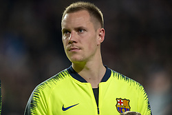 November 28, 2018 - Eindhoven, Netherlands - Marc-Andre ter Stegen of Barcelona during the UEFA Champions League Group B match between PSV Eindhoven and FC Barcelona at Philips Stadium in Eindhoven, Netherlands on November 28, 2018  (Credit Image: © Andrew Surma/NurPhoto via ZUMA Press)
