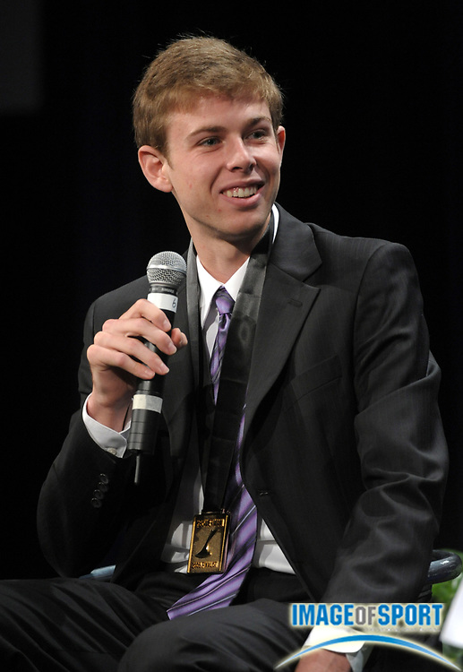 Dec 16, 2009; Orlando, FL, USA; Galen Rupp of Oregon was named the male winner of the Bowerman Award as the outstanding collegiate athlete at the USTFCCCA convention at the J.W. Marriott Grande Lakes.