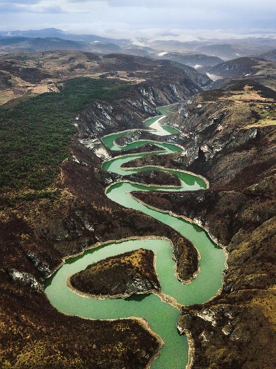 Meanders of Uvac, Serbia