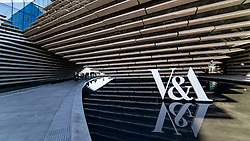 Exterior of the new V&A Museum in Dundee , Scotland, UK.