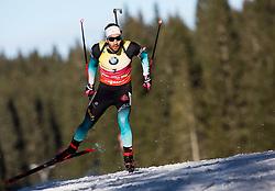Martin Fourcade (FRA) in action during the Men 10km Sprint at day 6 of IBU Biathlon World Cup 2018/19 Pokljuka, on December 7, 2018 in Rudno polje, Pokljuka, Pokljuka, Slovenia. Photo by Vid Ponikvar / Sportida