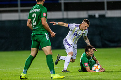 Maksimenko Vitalijs of NK Olimpija Ljubljana vs Martin Milec of NK Maribor vs Savic Stefan of NK Olimpija Ljubljana during a football game between NK Olimpija Ljubljana and NK Maribor in Final Round (18/19)  of Pokal Slovenije 2018/19, on 30th of May, 2014 in Arena Z'dezele, Ljubljana, Slovenia. Photo by Matic Ritonja / Sportida
