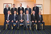Top table at Dundee FC Hall of Fame - Back row (left to right) Bob Hynd (Dundee FC Managing Director), Dick Campbell (speaker) Tim Keyes (Dundee FC Director). John Nelms (Dundee FC Director)  <br /> <br /> - Front Row (left to right) Gordon Wallace, Neil McCann (inductee), Ally Donaldson (inductee), Bobby Geddes (inductee), Billy Pirie (inductee), Pat Liney <br /> <br />  - Dundee FC Hall of Fame 2016 - at the Invercarse Hotel<br /> <br />  - &copy; David Young - www.davidyoungphoto.co.uk - email: davidyoungphoto@gmail.com