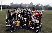 London Wasps Coach Class at Windsor RFC. 17-2-09. Presentations and pics with Tom Reece