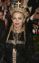 May 7, 2018 - New York City, New York, U.S. - MADONNA attends the Costume Institute Benefit celebrating the opening of Heavenly Bodies: Fashion and the Catholic Imagination exhibit held at at The Metropolitan Museum of Art. (Credit Image: © Nancy Kaszerman/ZUMA Wire)