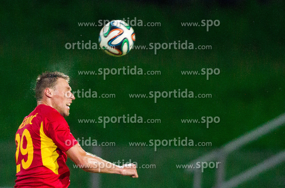 Ivan Knezovic #29 of Rudar during football match between NK Rudar Velenje and KF Laci (Albania) in 1st Round of UEFA Europa League Qualifications on July 3, 2014 in Arena Petrol, Celje, Slovenia. Photo By Vid Ponikvar / Sportida
