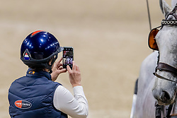 De Ronde Koos, NED, Favory Allegra Futar, Oosterwijk's Kasper, Siglavy Capriola Szilaj, Tjibbe<br /> Jumping Mechelen 2019<br /> © Hippo Foto - Dirk Caremans<br />  29/12/2019
