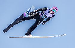 10.03.2019, Holmenkollen, Oslo, NOR, FIS Weltcup Skisprung, Raw Air, Oslo, Einzelbewerb, Herren, im Bild Dawid Kubacki (POL) // Dawid Kubacki of Poland during the men's individual competition of the Raw Air Series of FIS Ski Jumping World Cup at the Holmenkollen in Oslo, Norway on 2019/03/10. EXPA Pictures © 2019, PhotoCredit: EXPA/ JFK