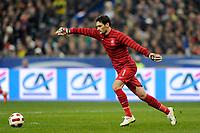 FOOTBALL - FRIENDLY GAME 2010/2011 - FRANCE v BRAZIL - 9/02/2011 - PHOTO JEAN MARIE HERVIO / DPPI - HUGO LLORIS (FRA)