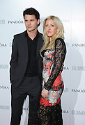 04.JUNE.2013. LONDON<br /> <br /> JEREMY IRVINE AND ELLIE GOULDING ATTEND THE 2013 GLAMOUR AWARDS IN BERKLEY SQUARE.<br /> <br /> BYLINE: EDBIMAGEARCHIVE.CO.UK<br /> <br /> *THIS IMAGE IS STRICTLY FOR UK NEWSPAPERS AND MAGAZINES ONLY*<br /> *FOR WORLD WIDE SALES AND WEB USE PLEASE CONTACT EDBIMAGEARCHIVE - 0208 954 5968*