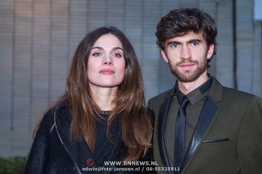 NLD/Utrecht/20130925 - Opening NFF 2012 - premiere Hoe Duur was de Suiker, Anna Drijver en partner Benja Bruijning