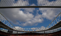 LONDON, ENGLAND - Sunday, April 2, 2017: A general view of Arsenal's Emirates Stadium, pictured before the FA Premier League match against Manchester City at the Emirates Stadium. (Pic by David Rawcliffe/Propaganda)