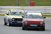#17 Matthew PETTS VW Golf GTi Mk2 during Teekay Couplings Mk2 Production Gti Championship - Race 4  as part of the BRSCC Oulton Park Season Opener at Oulton Park, Little Budworth, Cheshire, United Kingdom. April 09 2016. World Copyright Peter Taylor/PSP. Copy of publication required for printed pictures.  Every used picture is fee-liable. http://archive.petertaylor-photographic.co.uk