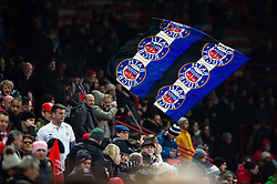 Bath Rugby supporters in the crowd - Mandatory byline: Patrick Khachfe/JMP - 07966 386802 - 20/01/2019 - RUGBY UNION - Stade Ernest Wallon - Toulouse, France - Toulouse v Bath - Heineken Champions Cup