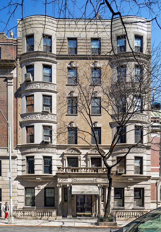 Facade Restoration designed by Kamen Tall Architects. Photographed by Marc J. Harary, City Architectural Photogaphy - 914-420-9293.  www.CityArchitecturalPhotography.com   Photographed March 19th & 26th, 2016.