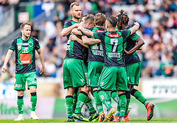 25.05.2019, Tivoli Stadion Tirol, Innsbruck, AUT, 1. FBL, FC Wacker Innsbruck vs SV Mattersburg, Qualifikationsgruppe, 32. Spieltag, im Bild Torjubel FC Wacker Innsbruck zum 2:0 durch Zlatko Dedic (FC Wacker Innsbruck) // during the tipico Bundesliga qualification group 32nd round match between FC Wacker Innsbruck and SV Mattersburg at the Tivoli Stadion Tirol in Innsbruck, Austria on 2019/05/25. EXPA Pictures © 2019, PhotoCredit: EXPA/ Stefan Adelsberger