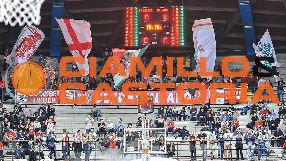 DESCRIZIONE : Final Eight Coppa Italia 2015 Desio Semifinale Olimpia EA7 Emporio Armani Milano - Enel Brindisi<br /> GIOCATORE : Ultras Milano<br /> CATEGORIA : Ultras Tifosi Spettatori Pubblico<br /> SQUADRA : Olimpia EA7 Emporio Armani Milano<br /> EVENTO : Final Eight Coppa Italia 2015 <br /> GARA : Olimpia EA7 Emporio Armani Milano - Enel Brindisi<br /> DATA : 21/02/2015<br /> SPORT : Pallacanestro <br /> AUTORE : Agenzia Ciamillo-Castoria/L.Canu