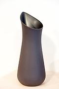 Minimallst ceramics by designer craftsman Ditte Fischer in stylish shop, Laederstraede in Copenhagen, Denmark - jug